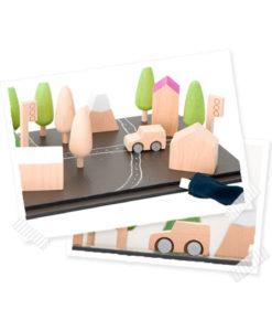 Machi Tiny Town speelbord