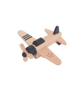 Hikouki propellervliegtuig zwart