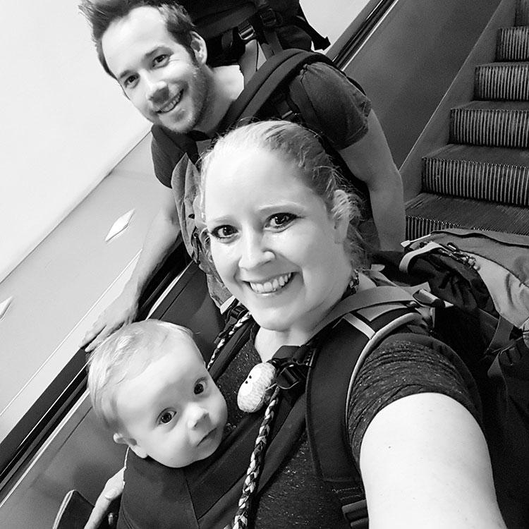 Eilandhoppen met baby - Onderweg