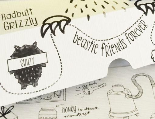 Mana'o Nani Travel Buddy Badbutt Grizzly friends