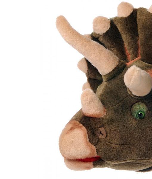 Dierenkop Dinosaurus detail