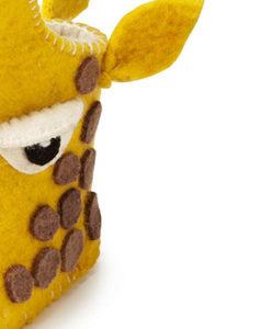 Zootie babyslofjes Giraffe