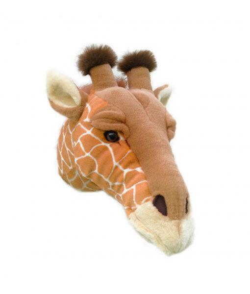 Dierenkop Giraffe zijkant