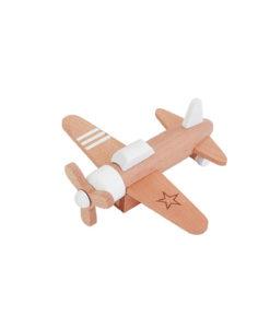Hikouki propellervliegtuig wit
