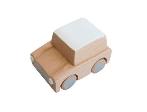 Kuruma speelgoedauto naturel