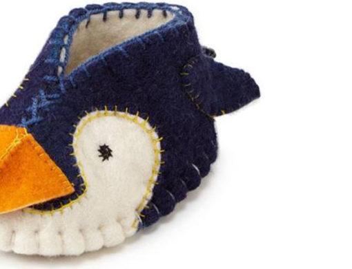 Zootie babyslofjes Pinguin