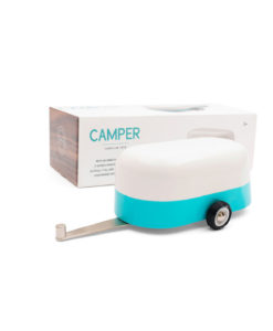 Camper - Blue + packaging