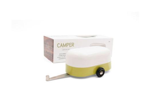 Camper - Green + packaging