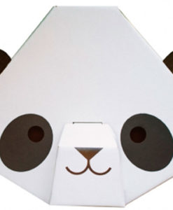 Little Panda Head detail