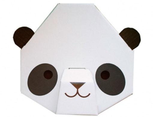 Little Panda Head detail
