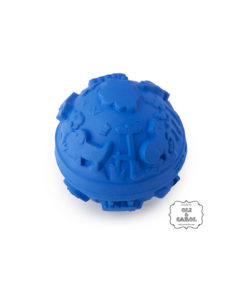 rubber babybal blauw